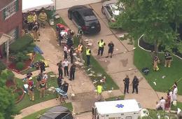 美国休斯敦一车库坍塌导致36人受伤