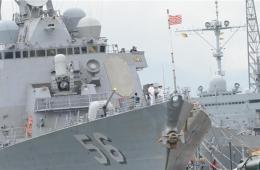 美菲开始在南海敏感水域军演 菲试验新购巡逻舰
