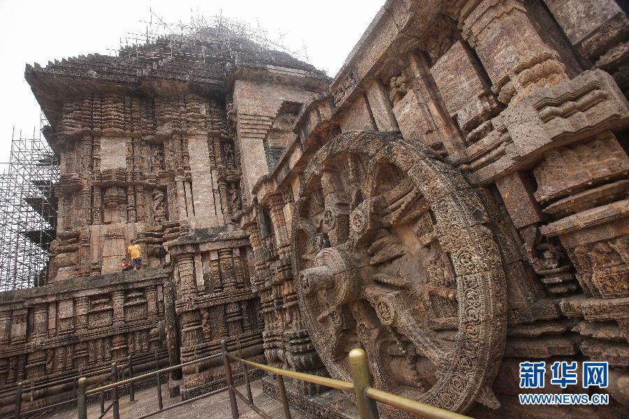 太阳 神庙/印度最著名的神庙//科纳拉克太阳神庙