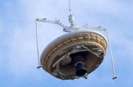 美国宇航局测试蝶形飞船 将执行火星登陆任务