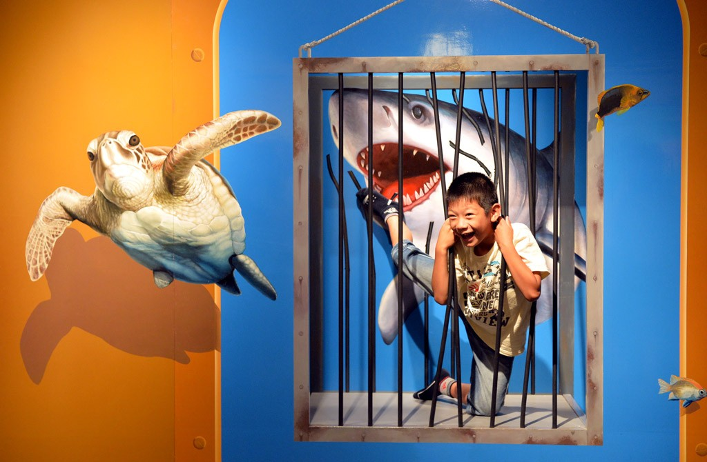 日本错觉诡计艺术馆 体验不可思议的奇妙世界