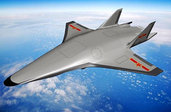 网友设计中国乘波体飞行器方案