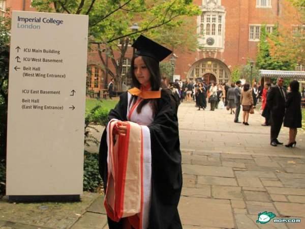 剑桥女博士美照 又一个人生赢家