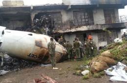 肯尼亚一货机起飞后撞上建筑物坠毁 4人死亡