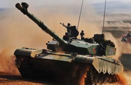 朱日和军演99式坦克终于上阵