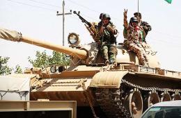 伊库尔德武装坦克很像中国69式