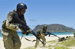 日本陆自首参加环太军演 展示抢滩登陆能力制衡中国