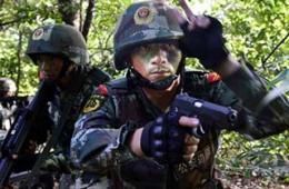 密林中缉毒精英部队悄然出击