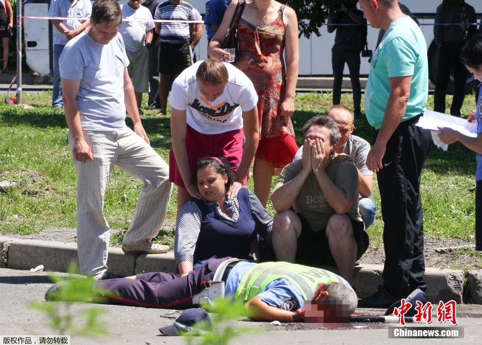 乌3名巡警被不明袭击者打死