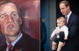 英威廉王子最新肖像画将用于慈善拍卖(图)