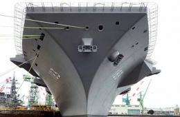 日本出云号航母最新进展曝光