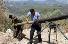 叙反对派用俄式火箭弹打政府军