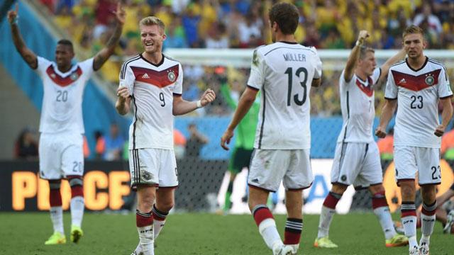 德国1-0法国 连续四届进四强