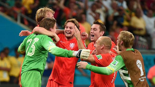 荷兰点球大战4-3淘汰哥斯达黎加