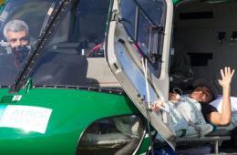 内马尔含泪告别世界杯 乘直升机回家疗伤