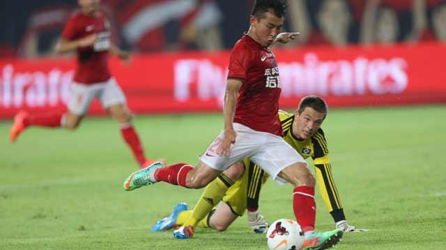 中德国际足球挑战赛 广州恒大6-2汉堡