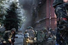 被乌克兰政府军占领后的斯拉维扬斯克