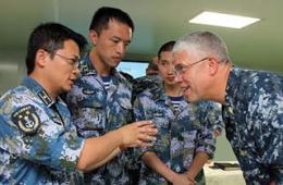 7国军医在我和平方舟号上切磋