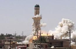 伊拉克极端组织炸毁神庙清真寺