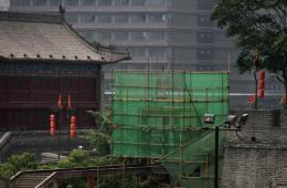 西安600年明城墙修建电梯引质疑