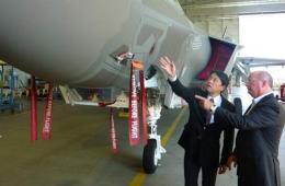 日防相参观美F-35战机工厂 称若降价可追加采购