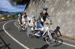 【借鉴】日本自行车绿色旅行配套设施一应俱全