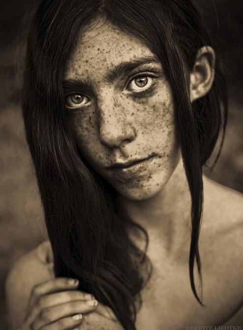 人像摄影:小雀斑