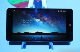 6英寸1080P大屏幕 nubia Z7 max现场多图实拍