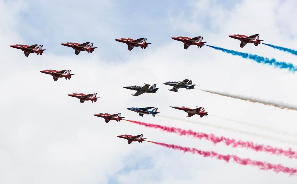 英国皇家航空纹身会名机云集
