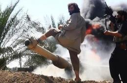 伊军美械装甲师被ISIS武装打残