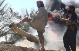 伊军美械装甲师被轻装极端武装打残