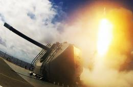 日本神盾舰打响环太军演第1枪