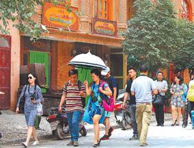 喀什市老城区改造与创建5A级景区同步进行