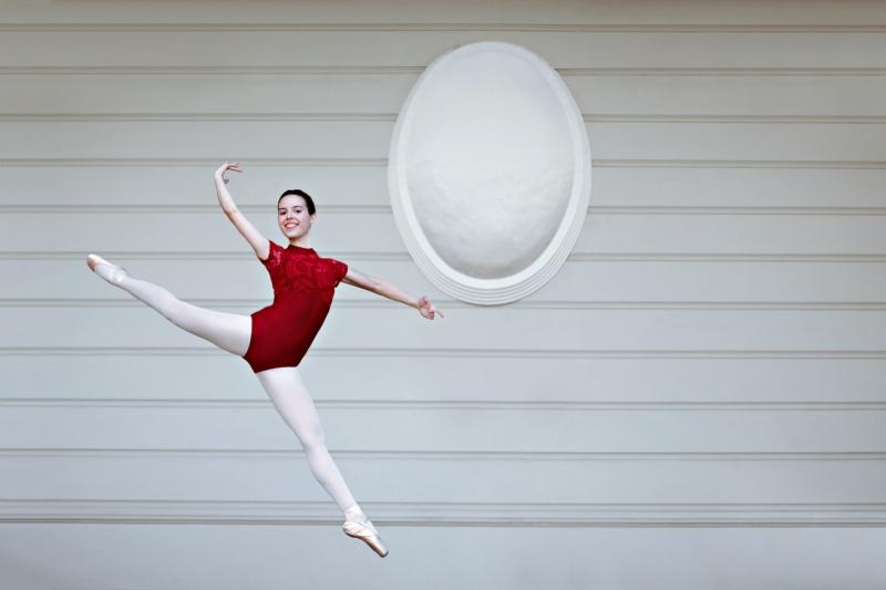 人像摄影:舞者之城