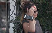 凡妮莎·哈金斯7月13日洛杉矶街拍