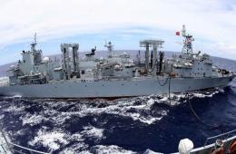 高清:环太军演中国海军舰艇参加6项课目演练