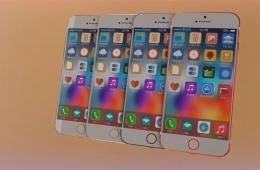 四种颜色 迄今最华丽的iPhone 6渲染图