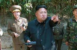 """金正恩指示朝军向""""敌人""""开火"""