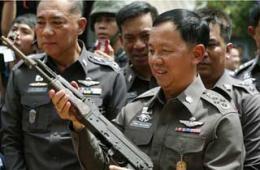 泰国缴获3万余支枪含中国56式
