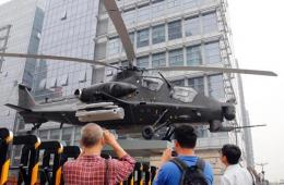 """北京闹市现""""武装直升机"""""""