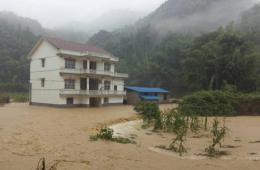 湖南安化发生特大暴雨山洪灾害 致5人死亡