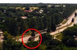 疑似击落MH17的导弹发射器图片曝光