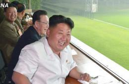 金正恩指导朝男足考核赛 称体育不能成政治玩物