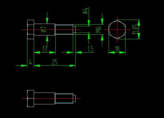 cad对零件图进行标注的方法图解步骤