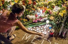 各国民众自发悼念马航MH17遇难者(图)