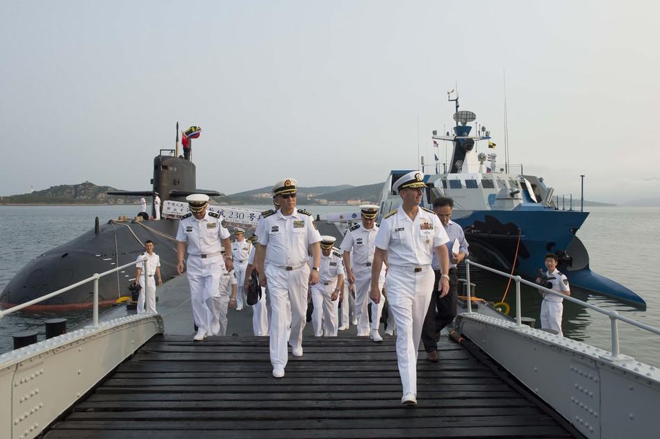 Uss Cowpens Collision Chinese Navy (PLAN) Ne...
