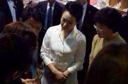 中国第一夫人令韩国商场大热 同款商品断货