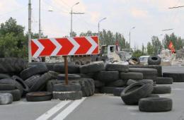 实拍顿涅茨克:机场附近曾发生半小时炮击