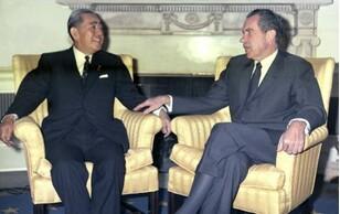 安倍胞弟曾尼克松访华后要求访华 被批不够资格