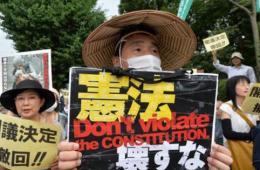 中日若因领土交火 日本人不原谅安倍